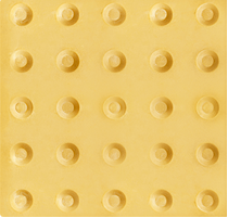 Pisos táteis concreto 25x25
